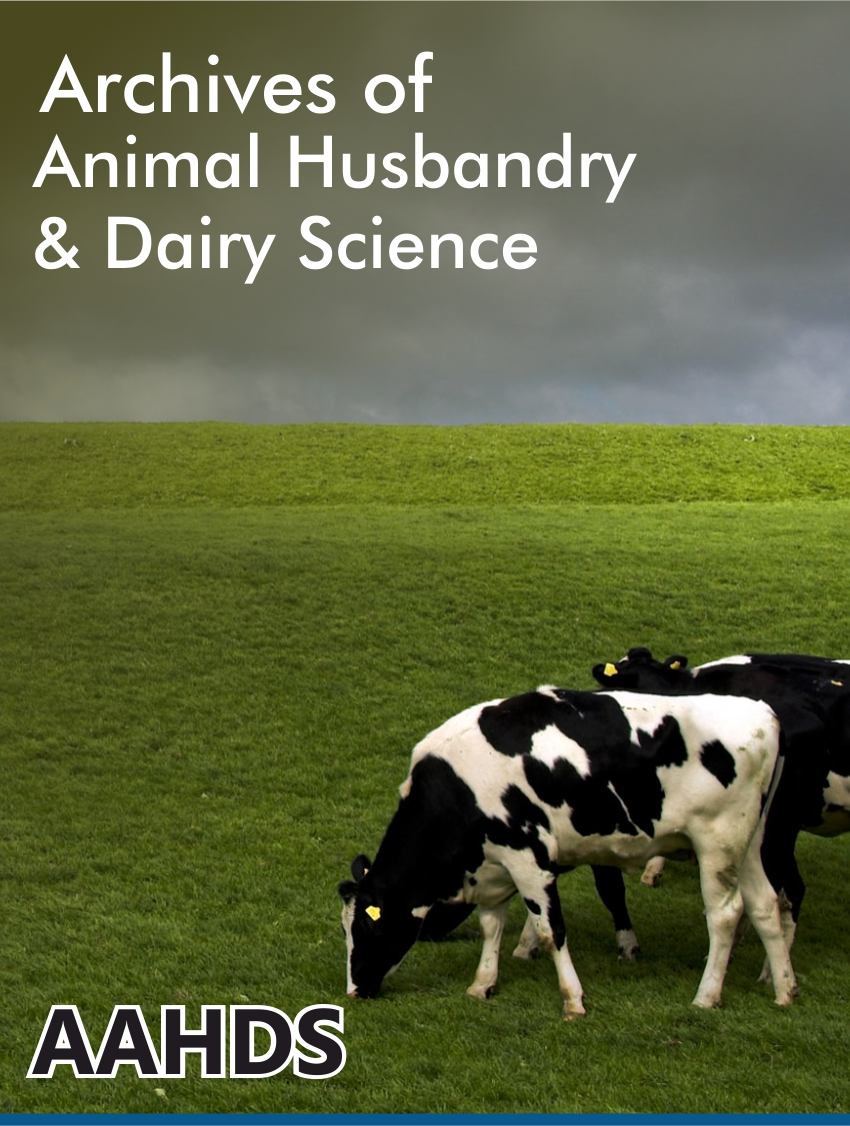 Archives of Animal Husbandry & Dairy Science