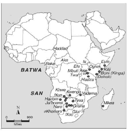 Foragers And Food Production In Africa A Cross Cultural And